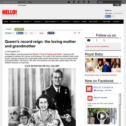 Queen's record as longest serving monarch: the loving mother and grandmother - hellomagazine.com