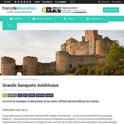 Grands banquets médiévaux