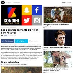 Les 5 grands gagnants du Nikon Film Festival