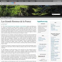 Les Grands Hommes de la France