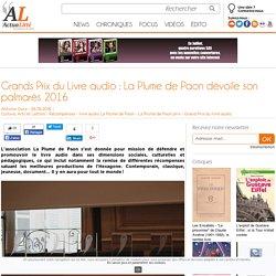 Grands Prix du Livre audio : La Plume de Paon dévoile son palmarès 2016