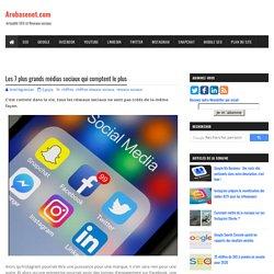 Les 7 plus grands médias sociaux qui comptent le plus