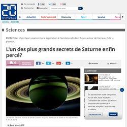 L'un des plus grands secrets de Saturne enfin percé?