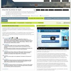 Les grands sites de presse en ligne - Chercher la presse en ligne