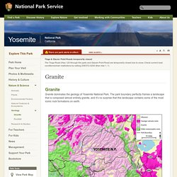 Granite - Yosemite National Park