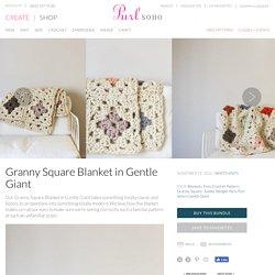 Granny Square Blanket in Gentle Giant