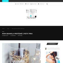 Mon granola protéiné aux flocons de soja – My Pretty Little Reviews