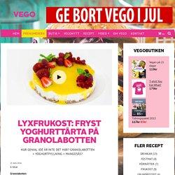 Lyxfrukost: Fryst yoghurttårta på granolabotten - Vegomagasinet