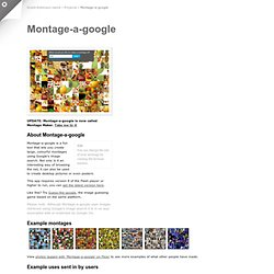Grant Robinson : Montage-a-google launcher