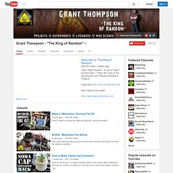 "Grant Thompson - ""The King of Random"""