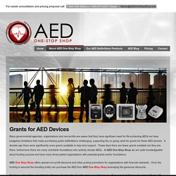 Grants for AED Devices