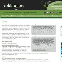 Grants « FundsforWriters