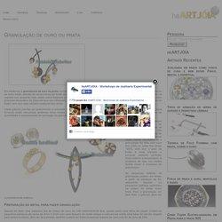 Granulação de ouro ou prata