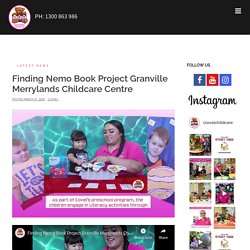 Finding Nemo Book Project Granville Merrylands Childcare Centre