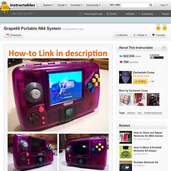 Grape64 Portable N64 System - StumbleUpon