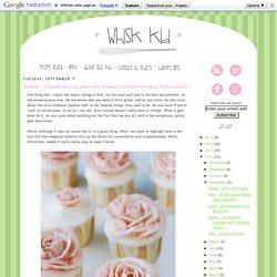 Babble - {Grapefruit Cupcakes with Honeyed Italian Meringue Buttercream}