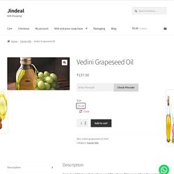 Best Grapeseed Oil in India
