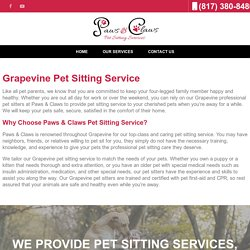Poop Removal, Dog Walking in Grapevine TX