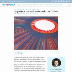 Graph Database with Neo4j and a .NET Client - The New Stack