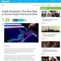 Graph Databases: The New Way to Access Super Fast Social Data