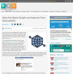 How the Open Graph can Improve Your Shareability