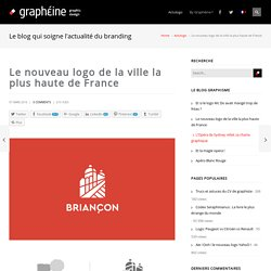Le nouveau logo de la ville la plus haute de France - Graphéine - Agence de communication Paris Lyon