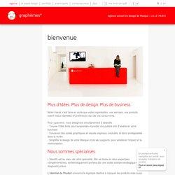 Graphèmes - Agence conseil en design de marque - Lille Paris: design graphique, création logo, packaging, branding, identité corporate