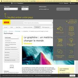 Le graphène : un matériau qui pourrait changer le monde