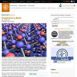 Graphene is Next | h+ Magazine