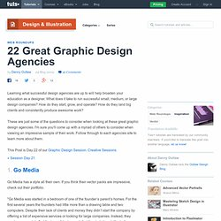 22 Great Graphic Design Agencies