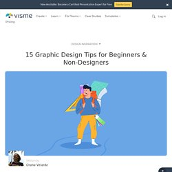 15 Graphic Design Tips for Beginners & Non-Designers