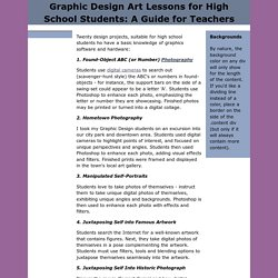 Graphic Design Art Lessons