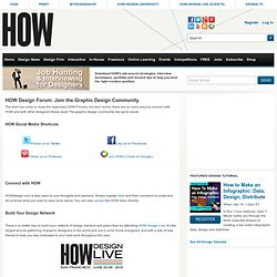 HOWDesign.com - Graphic Design Forum
