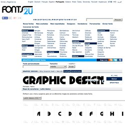 GRAPHIC DESIGN fonte