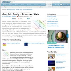 Graphic Design Ideas for Kids