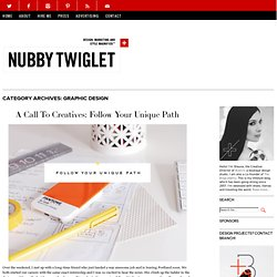 Graphic Design | Nubby Twiglet | Page 3