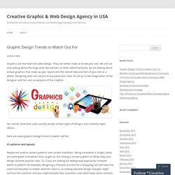 Creative Graphic & Web Design Agency in USA