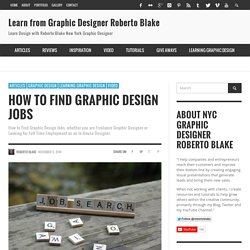 Learn from Graphic Designer Roberto Blake
