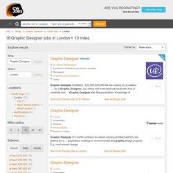 Graphic Designer Job Vacancies London - CWJobs