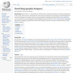 David King (graphic designer) - Wikipedia