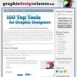 100 Top Tools for Graphic Designers
