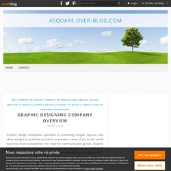 Graphic designing company overview