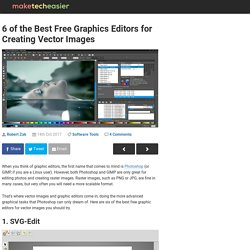 5 of the Best Free Graphic Editors for Creating Vector Image