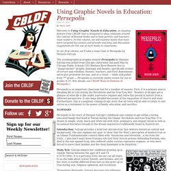 Using Graphic Novels in Education: Persepolis