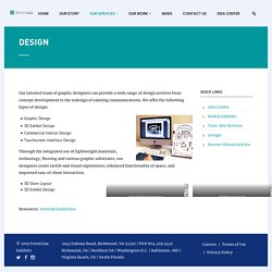 Graphic Design - Exhibit Design - Retail Interior Design
