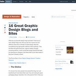 16 Great Graphic Design Blogs and Sites