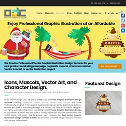 Top Grade Graphic Illustration Design Services