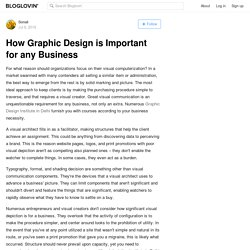 How Graphic Design is Important for any Business