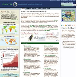 A Graphic Look at the State of the World - Earth Web Site