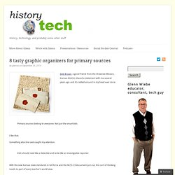 8 tasty graphic organizers for primary sources